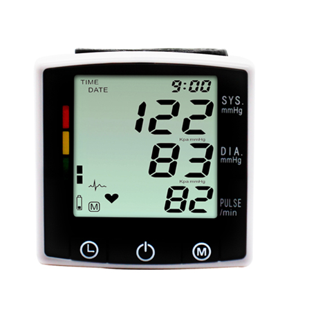 Wrist Type Automatic Blood Pressure Monitor