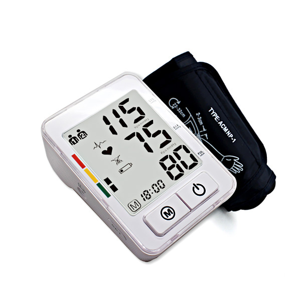 Large LCD Arm Type Blood Pressure Monitor