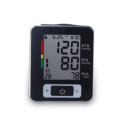 Wrist Digital Voice Blood Pressure Monitor